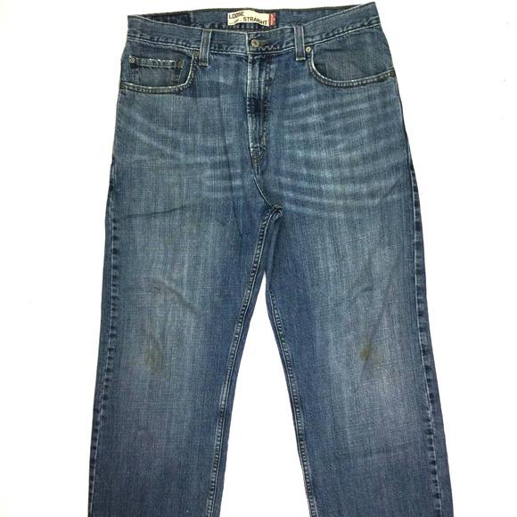 1ba0052a9d499a Levi s W36 569 Mens Loose JeansLevis X Fit Poshmark L28 Blue CxedBo